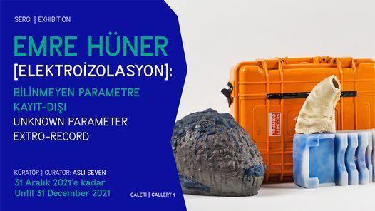 Emre Hüner: [ELEKTROİZOLASYON]: Bilinmeyen Parametre Kayıt-Dışı, 5 December | Event in Istanbul | AllEvents.in