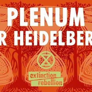 Plenum September  XR Heidelberg