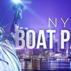 1 New York City Booze Cruise - Saturday Night Party on Lux Yacht Infinity