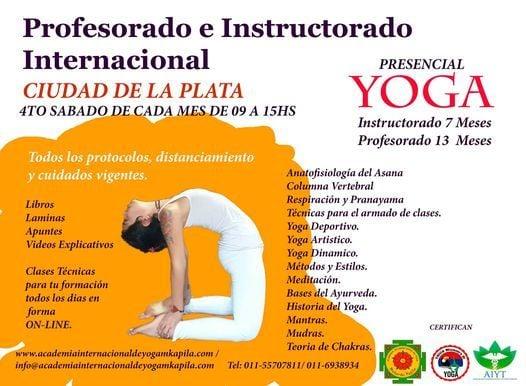 Profesorado e Instructorado de Yoga La Plata   Event in La Plata   AllEvents.in