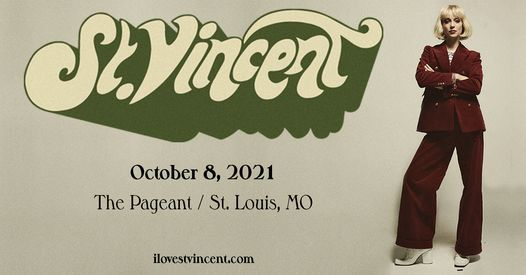 St. Vincent at The Pageant, 8 October   Event in St. Louis   AllEvents.in