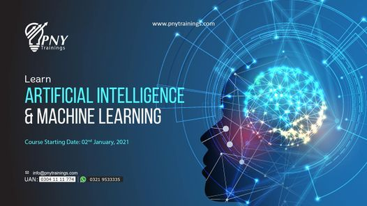 Learn Artificial Intelligence & Machine Learning (Arfa Tower), 2 January | Event in Gujranwala | AllEvents.in