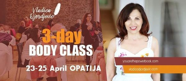 Access 3-day BODY CLASS with Vladica in OPATIJA, 23 April | Event in Rijeka | AllEvents.in