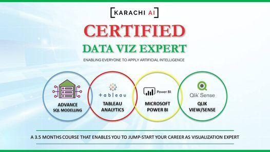 Karachi AI : Certified Viz Expert Training   Batch 2, 15 May   Event in Karachi   AllEvents.in