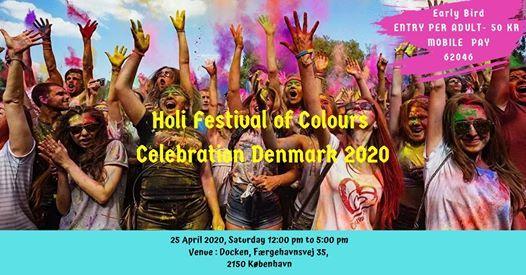 Holi Festival of Colours Celebration Denmark 2021, 17 April | Event in Copenhagen | AllEvents.in