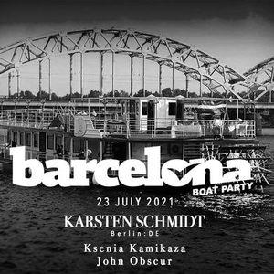 BARCELONA boat party Karsten Schmidt (BerlinDE)