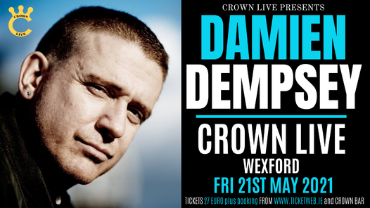 Damien Dempsey, 21 May | Event in Wexford | AllEvents.in
