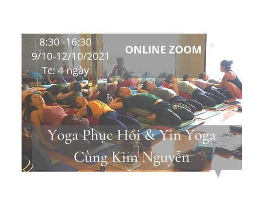 Yoga Phục Hồi Và Yin Yoga Cùng Kim Nguyễn, 28 October | Online Event | AllEvents.in