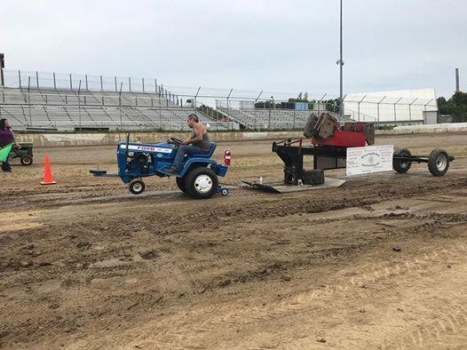 Sherburne County Fair Garden Tractor Pull | Elk River