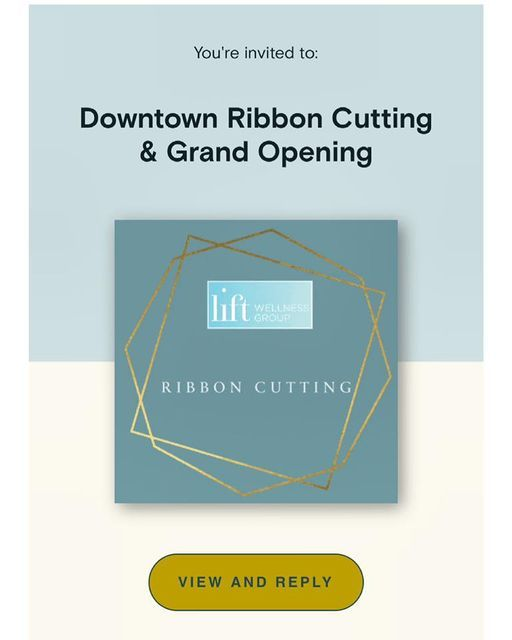 LIFT Wellness Downtown Ribbon Cutting and Grand Location Opening, 10 September   Event in Westport   AllEvents.in