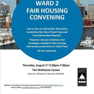 Fair Housing Convening (Ward 2)