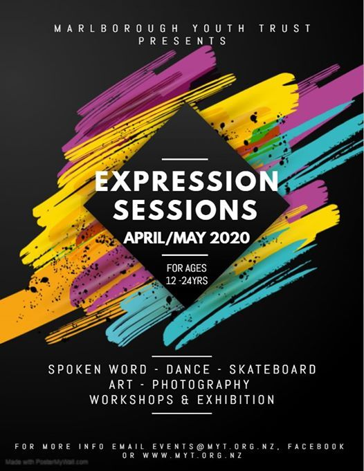 Expression Sessions Workshops & Exhibition