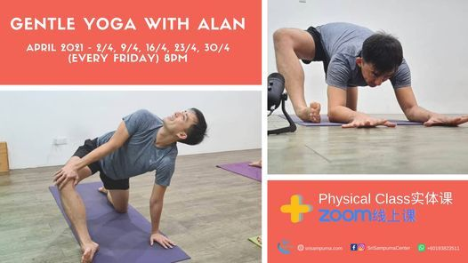 Gentle Yoga with Alan, 16 April | Event in Petaling Jaya | AllEvents.in