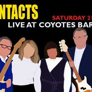 The Contacts at Coyotes Bar & Grill - Rescheduled