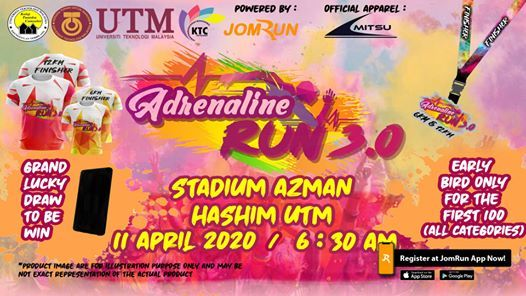 Adrenaline Run 3.0 (Spring Colour Edition)