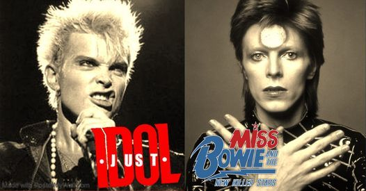 David Bowie & Billy Idol - live music charity double header!, 24 April | Event in Chesterfield | AllEvents.in
