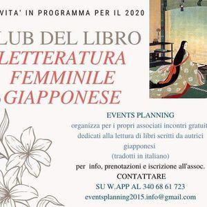 Club del libro- Letteratura femminile giapponese