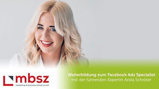 Kursstart Facebook Ads Specialist
