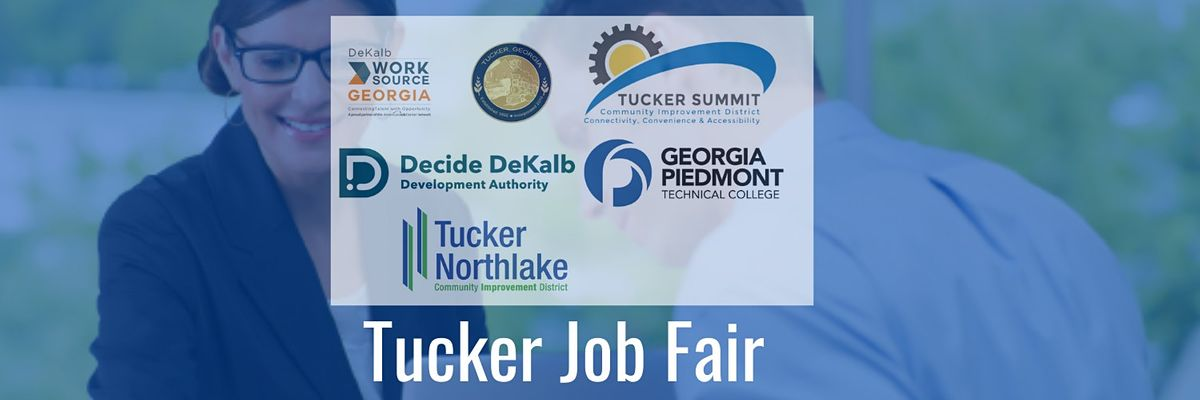 """Tucker """"Back to Work"""" Job Fair (Registration Form for Job Seekers), 26 October 