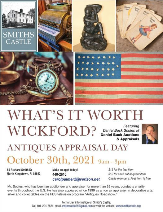 What's It Worth Wickford?, 30 October | Event in North Kingstown | AllEvents.in