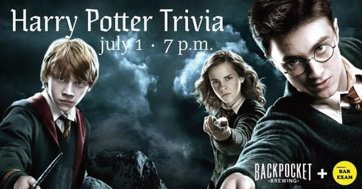 Harry Potter Trivia, 1 July   Event in Coralville   AllEvents.in