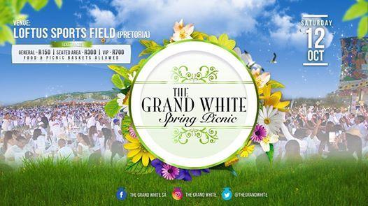 The Grand White Spring Picnic Pretoria 2019