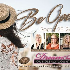 DreamChic Your Dream Counts Be Open Womens Conference