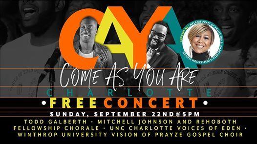 CAYA Charlotte Free Gospel Concert