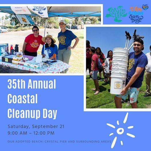 35th Annual Coastal Cleanup Day