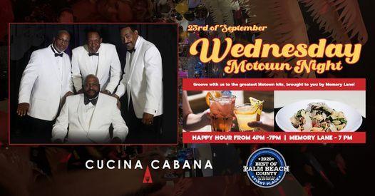 MOTOWN NIGHT at CUCINA CABANA Memory Lane Live