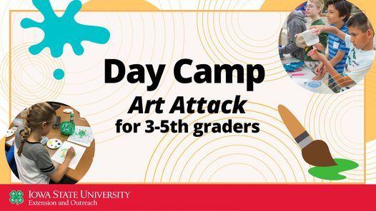 Day Camp - Art Attack, 10 June | Event in Cedar Rapids | AllEvents.in