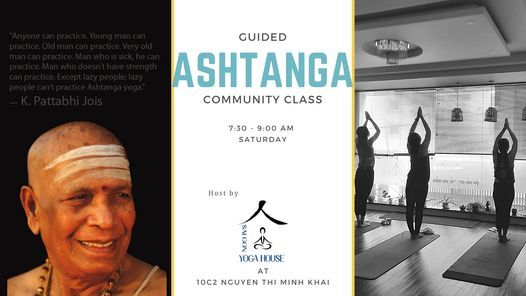 GUIDED ASHTANGA | Event in Ho Chi Minh City | AllEvents.in
