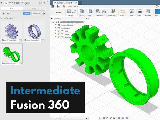 Intermediate Fusion 360 | Online Event | AllEvents.in