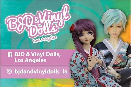 Anaheim Japan Fair BJD & Vinyl Doll ExhibitMeet Up 2020
