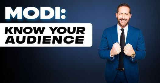 MODI: Know Your Audience, 26 October | Event in Fort Lauderdale | AllEvents.in