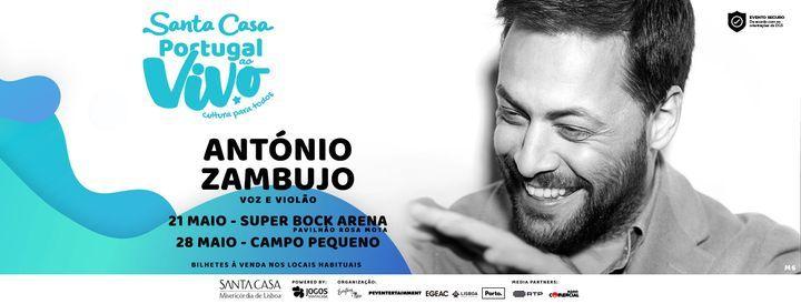 ANTÓNIO ZAMBUJO - SANTA CASA PORTUGAL AO VIVO 2ª EDIÇÃO, 28 May   Event in Lisbon   AllEvents.in
