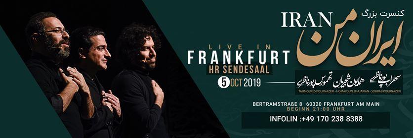 Homayoun Shajarian Sohrab Tahmoures Pornazeri live in Frankfurt