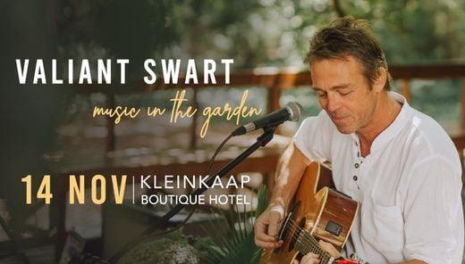 Music in the Garden - Valiant Swart, 14 November   Event in Pretoria   AllEvents.in