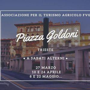 Mercato agricolo Piazza Goldoni