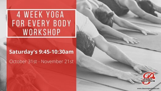 Yoga for Every Body 4 Week Workshop, 31 October | Event in Depew | AllEvents.in