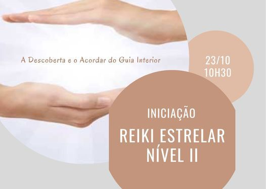 Curso Reiki Estrelar Nível II, 23 October | Event in Barreiro | AllEvents.in