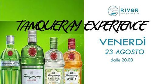Tanqueray Experience Spiaggetta At River Urban Beach Florence