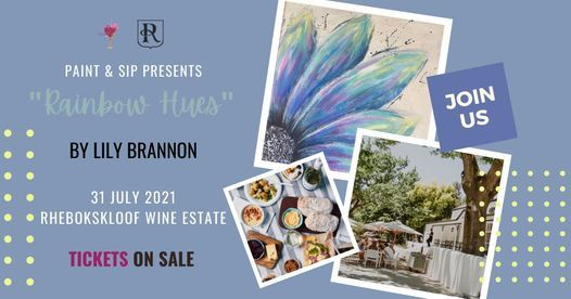 Paint & Sip at Rhebokskloof Wine Estate (Paarl), 31 July | Event in Bellville | AllEvents.in