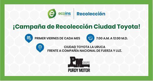 Campaa de Recoleccin Ciudad Toyota
