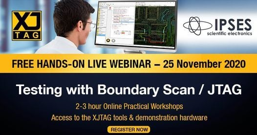 Free Webinar: PCB Testing with Boundary Scan / JTAG, 25 November | Online Event | AllEvents.in