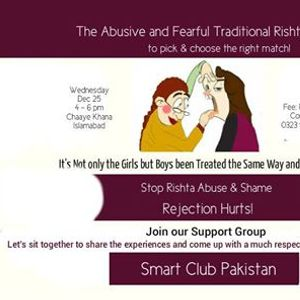Social Meetup to talk abut Abusive Rishta Culture in Our Society