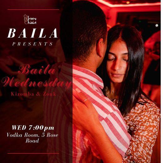 Baila Wednesday - Zouk & Kizomba, Vodka Room, Auckland ...