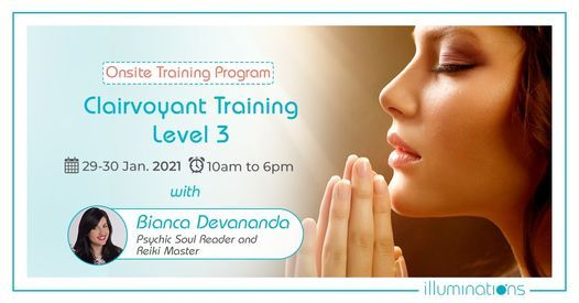 Onsite Clairvoyant Training Level 3, 29 January | Event in Dubai | AllEvents.in