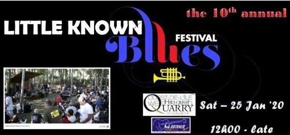 Little Known Blues Festival - 2020
