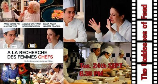 CINE CLUB - The Goddesses of Food - September 17th